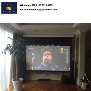 3e691dcbe34c9b Matt white fabric price of projector screen 16:9,projector screen 100 inches