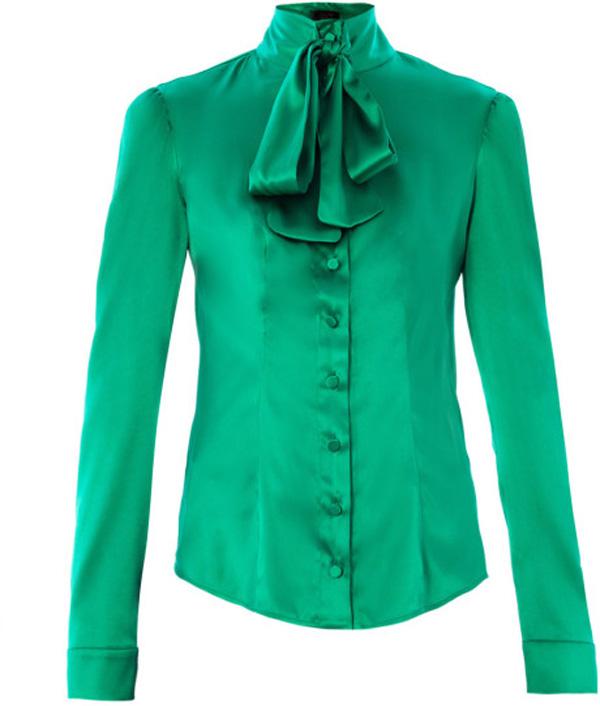 Silk Crepe Blouse Office Uniform Designs For Women Blouses ...