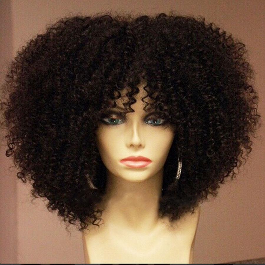 Best Selling Medium Fluffy Hair Wig For Black Women - Buy Wig For ... 4dd1f80b35