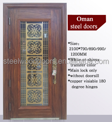 Tunisia Security Steel Exterior Iron Door Price Buy