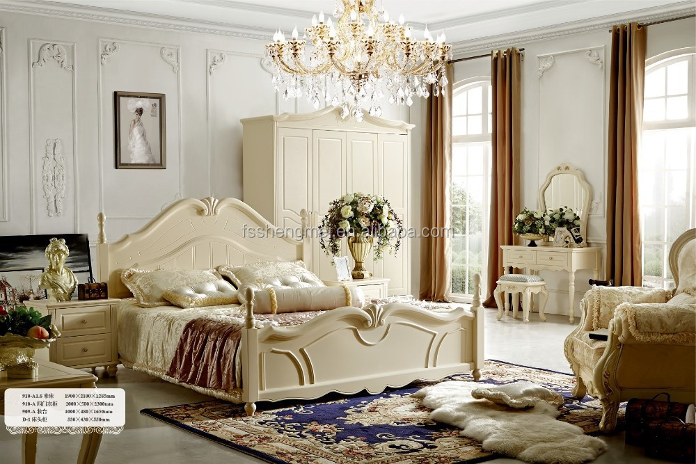 Wood Bedroom Set Furniture 1.8m Double Bed, Wood Bedroom Set Furniture 1.8m  Double Bed Suppliers And Manufacturers At Alibaba.com