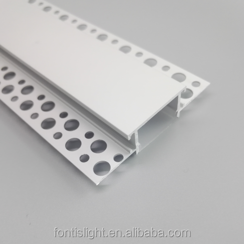 2018 New type ALP071 High Quality Aluminum LED Profile with 5050 3825 2835 led strips use for drywall