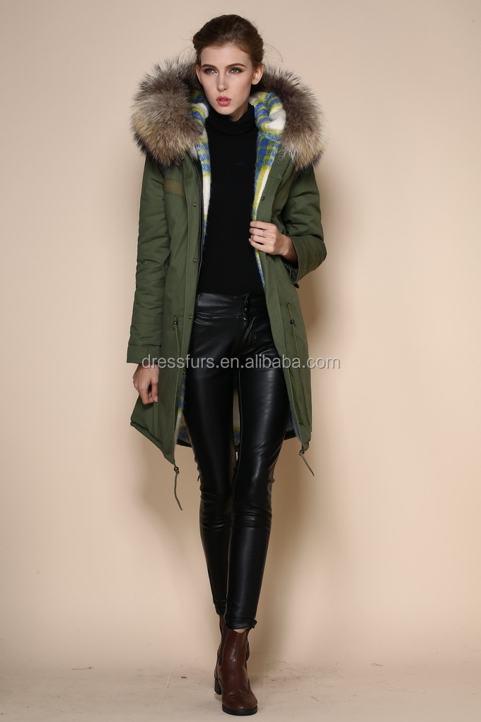 Winter Coats Women Korean Style Faux Fur Fleece Lined Down Jackets ...