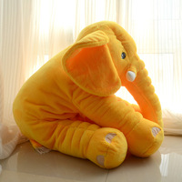 Multi-color Stuffed Toy Plush Animal Lovely Elephant Pillow For Baby