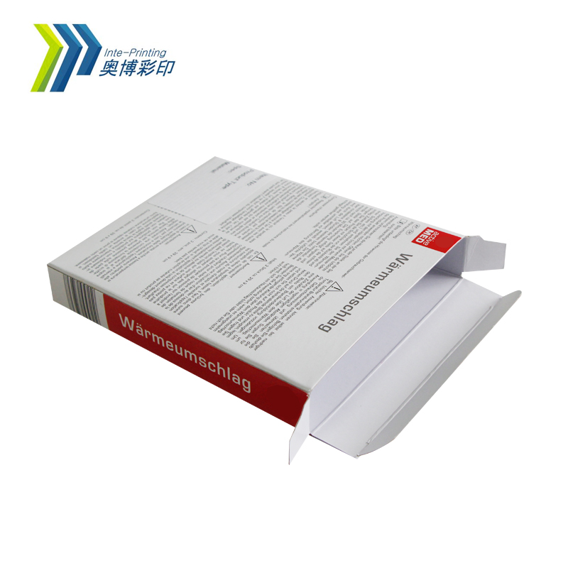 Manufacturer Supply Customized Printing Medicine Packing Paper Box