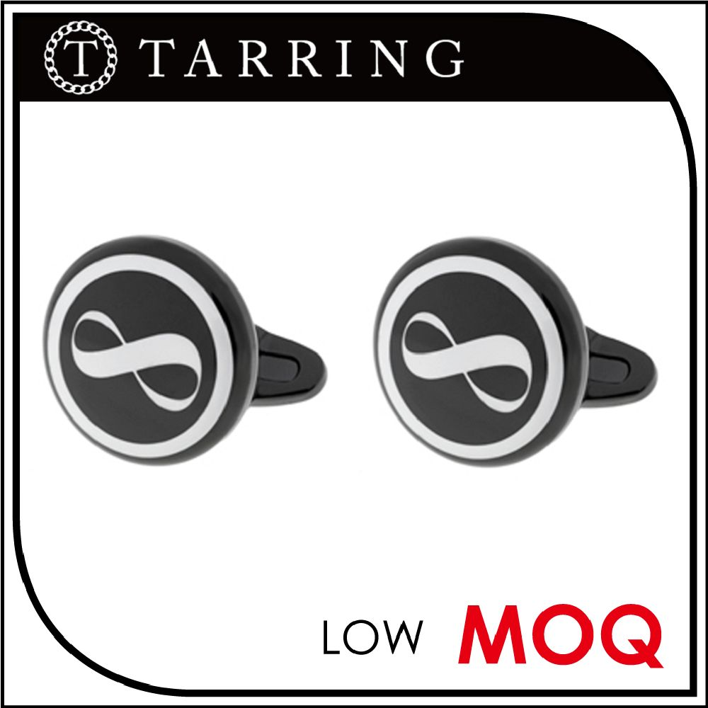 Tarring Jewelry stainless steel world cufflinks for him for office gift