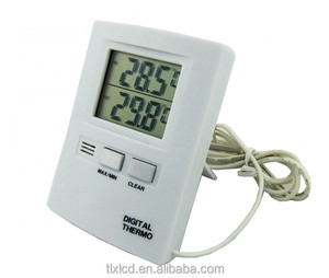 Mini Room Thermometer Digital with external sensor