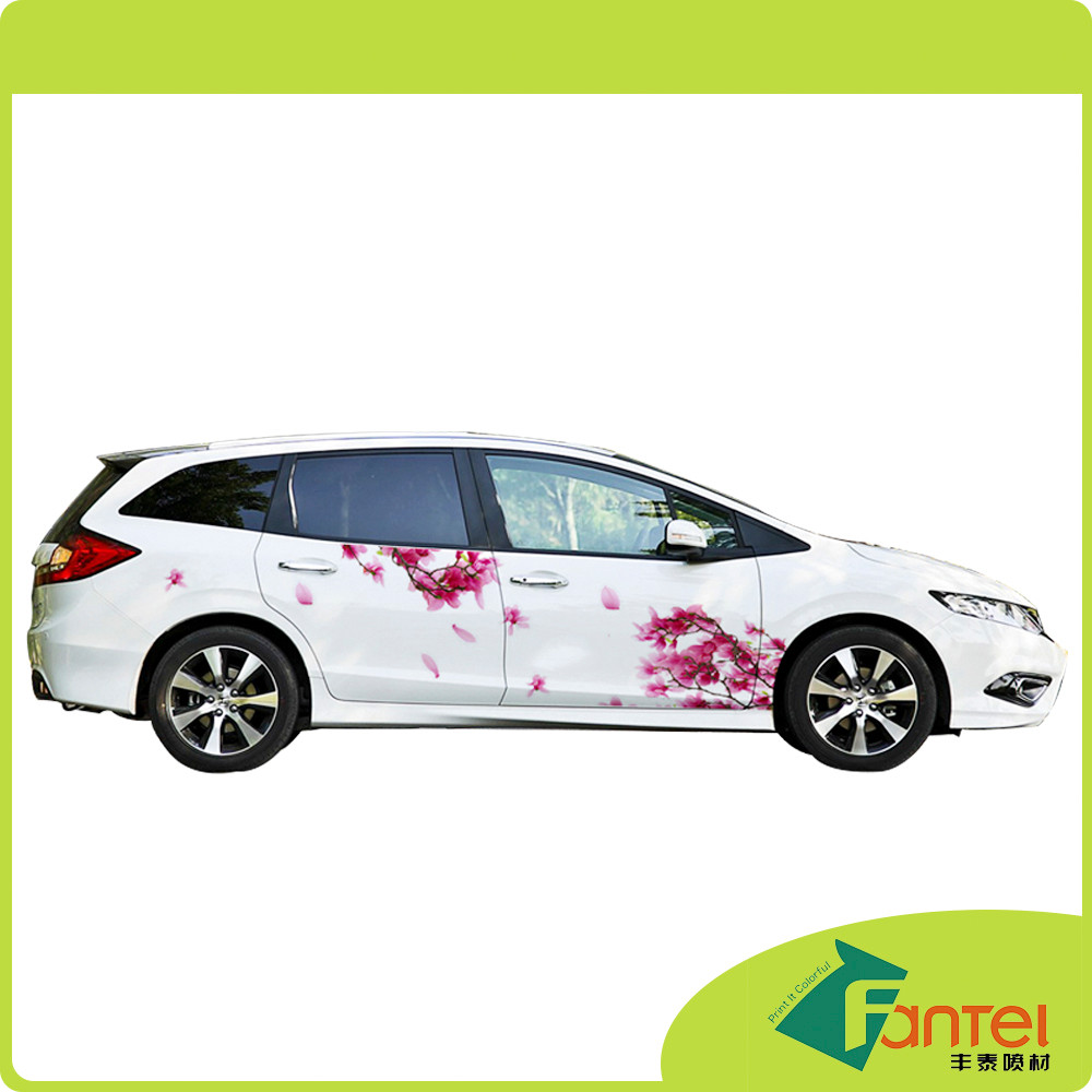 120gsm 80Microns PVC Glossy Vehicle Wrap