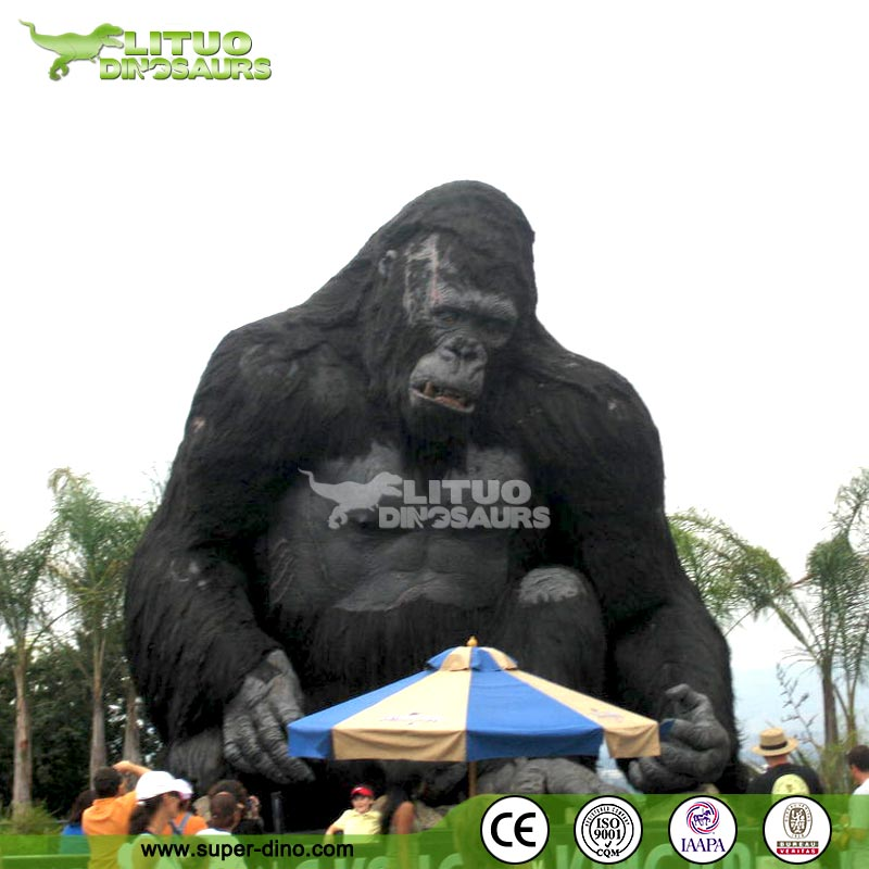 Animated Realistic Life Size King Kong