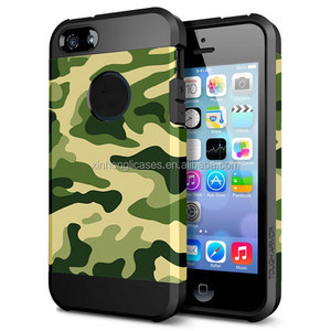 Creative Design Anti-shock Phone TPU+PC Phone Case For IPhone 5/5S