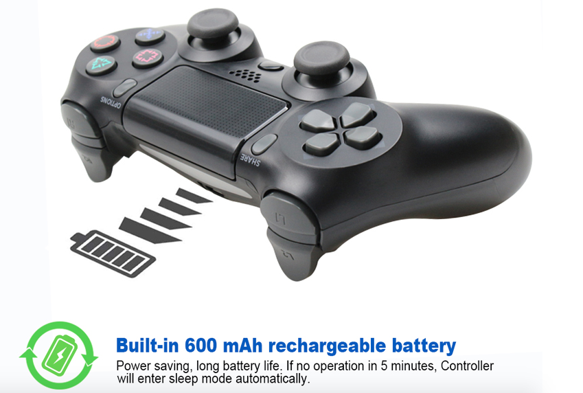 Bluetooth Wireless Joystick for PS4 Controller Fit For mando