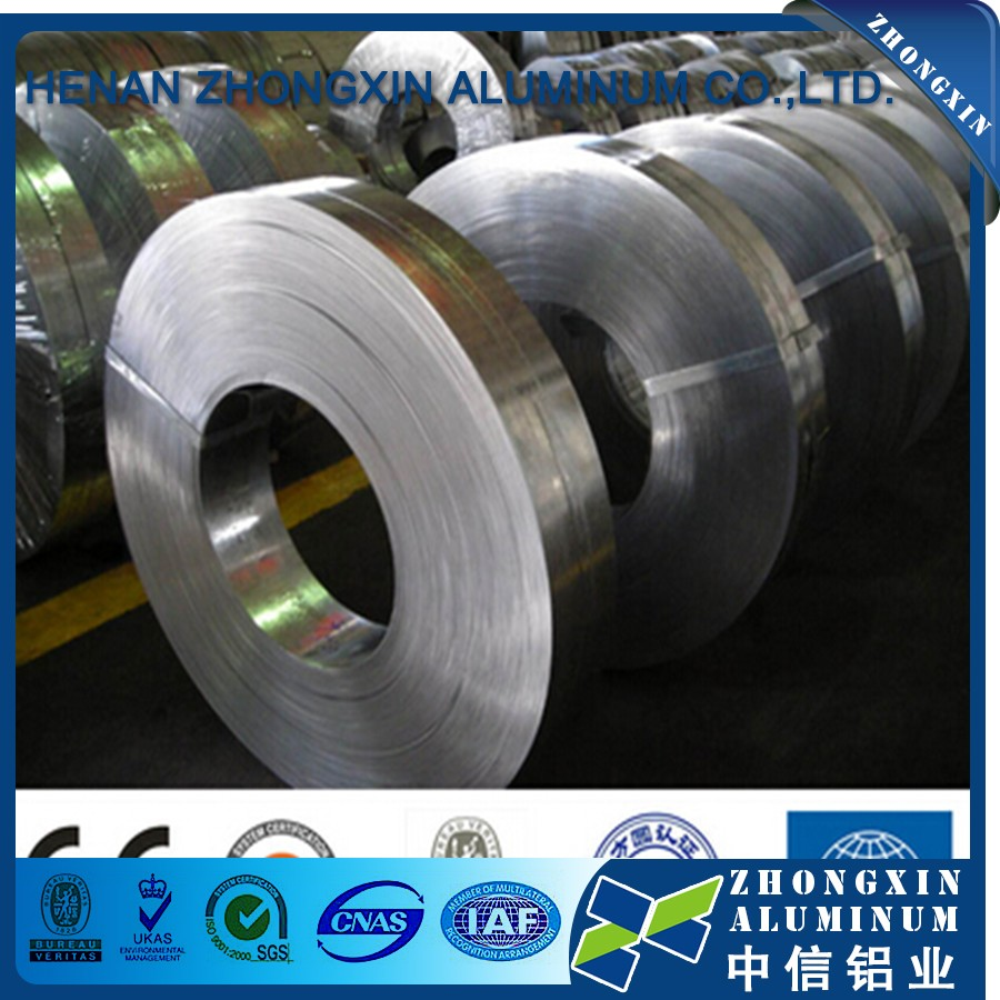 Without Edge Fur 1050/1060 Aluminum Foil Strips for Transformer Winding