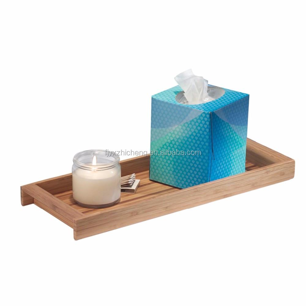 Wholesale bamboo countertop organizer bamboo bathroom for Bathroom tray organizer