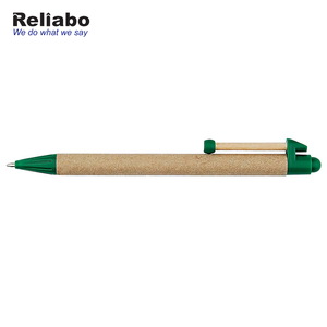 Reliabo Chinese Factory Custom Logo Eco-friendly Paper Mate Pens For Promotion