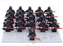 21 шт. солдат из Звездных войн, Клон-солдат, игрушки, рисунок 75172, совместимые с Legoeingly Trooper, строительные блоки, игрушки(Китай)