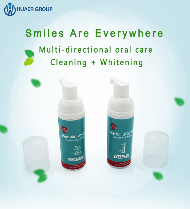 Daily Use Teeth Whitening Bleaching Foam Bubble Toothpaste Buy