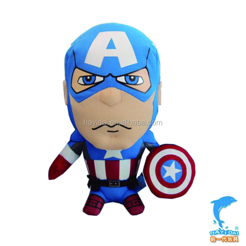 Captain plush toys with FAMA certification 9""