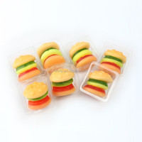 Fast Food Series Individual Packed Mini Burger Shaped Gummy Candy ...