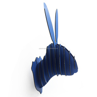 home decoration accessories rabbit head decoration home