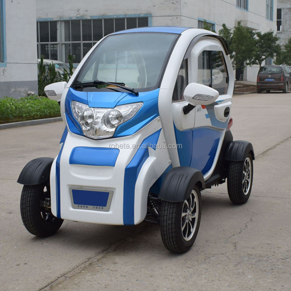 4 wheel electric car with colorful appearance