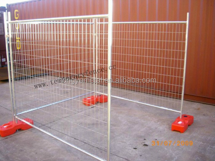 Temporary Construction Screens : Manufacturer gavanized chain wire temporary fence
