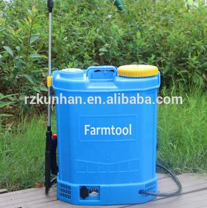 hot selling 16L 18L 20L agriculture plastic hand knapsack electric battery  sprayer