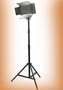 Ephoto 500 LED Professional Studio Video Light Panel Video Light Lighting LED Panel Photograph Video Light Panel with Light Stand Kit By Ephotoinc Uls500led