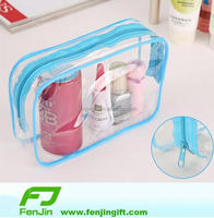 cheap clear pvc travel toiletry bag