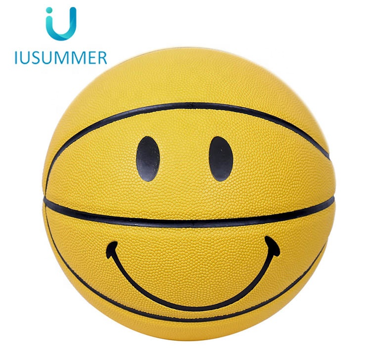 Wholesale Different Kinds of Expression Basketball Balls Customization