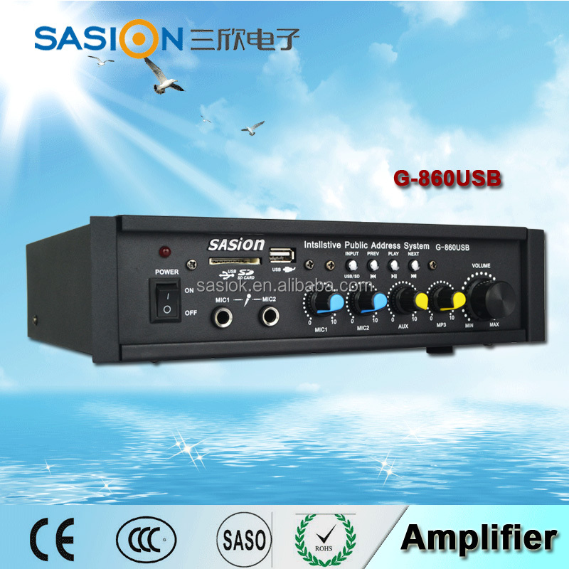 Voltage amp home professional broadcast mini 100w power audio amplifier