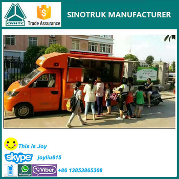 China Suppliers Food Truck For Sale In Malaysia