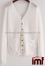 Light Weight Free People UV Protection Beach Boyfriend Style Cardigan