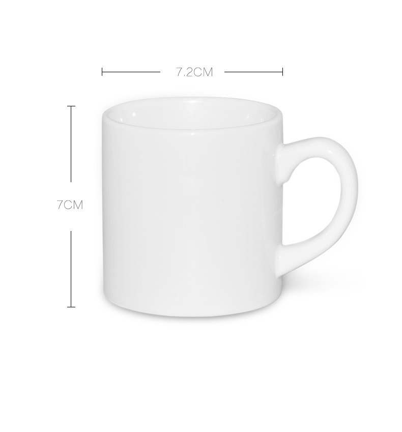 Sublimation Mug Is Special For Printing A Kind Of With Coating On Surface Used To Print Letters Or Photos The