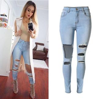 Vita Matita Skinny 2016 Donna W0853 Jeans Pantaloni Alta Pknw0O