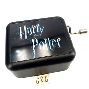 Mini Acrylic Wedding Music Box Harry Potter Music