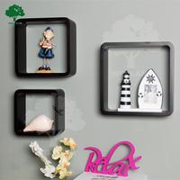Adore Wooden cube shelf wall decor J