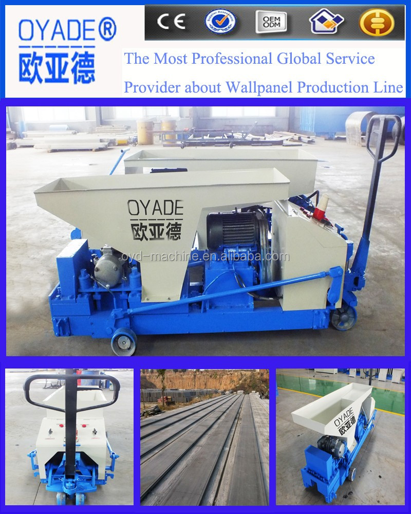 Low Cost Prestressed Precast Concrete Boundary Wall Machine