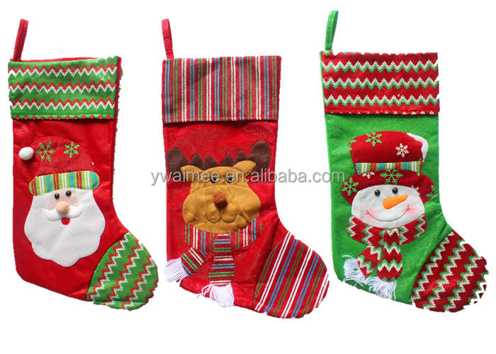 Yiwu Aimee Supplies christmas gifts 2014,christmas stocking holders(AM-CD016)