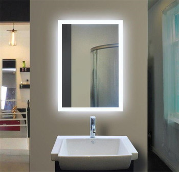 Outstanding Ilumay Led Home Decoration Bathroom Wall Rectangle Mirror Illuminated Light Vanity Mirror With Light Buy Bathroom Makeup Mirror With Led Download Free Architecture Designs Terstmadebymaigaardcom