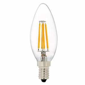 120V 230V 2w 4w 6w CRI90 C35 Dimmable e12 Filament LED Candelabra Light Bulbs