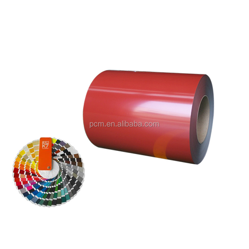 Zinc 40 coated color steel sheet metal roll for building material