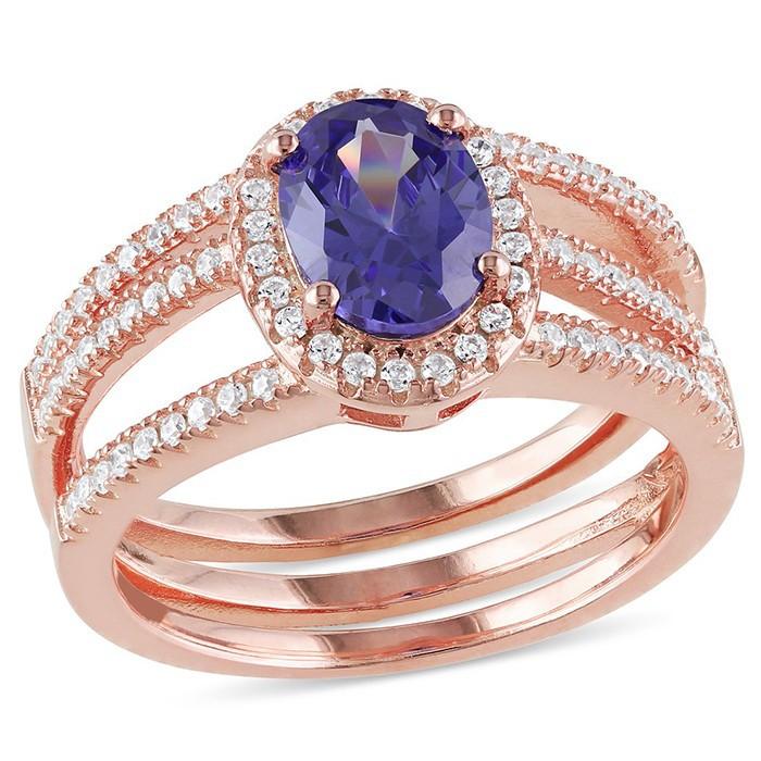 Anillos de la joyer a pakist n rose oro laminado anillo cristal de murano anillo joyer a de - Anillo cristal murano ...