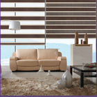 2014 fashionable wood look blinds double layer window curtain zebra roller blinds made in china