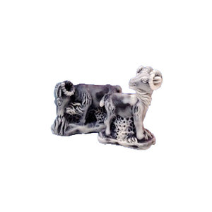 New online New Product Souvenirs Two Sheep Sculpture