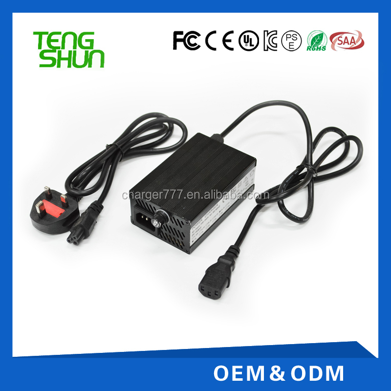 Hot 36V 2A 36V 2A DC 42V 10Ah-15Ah Lithium Battery Charger E-bike Scooter Chargerfactory
