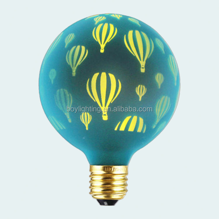 dark green balloon laser g80 vintage led light bulb 100-240v g80 laser light