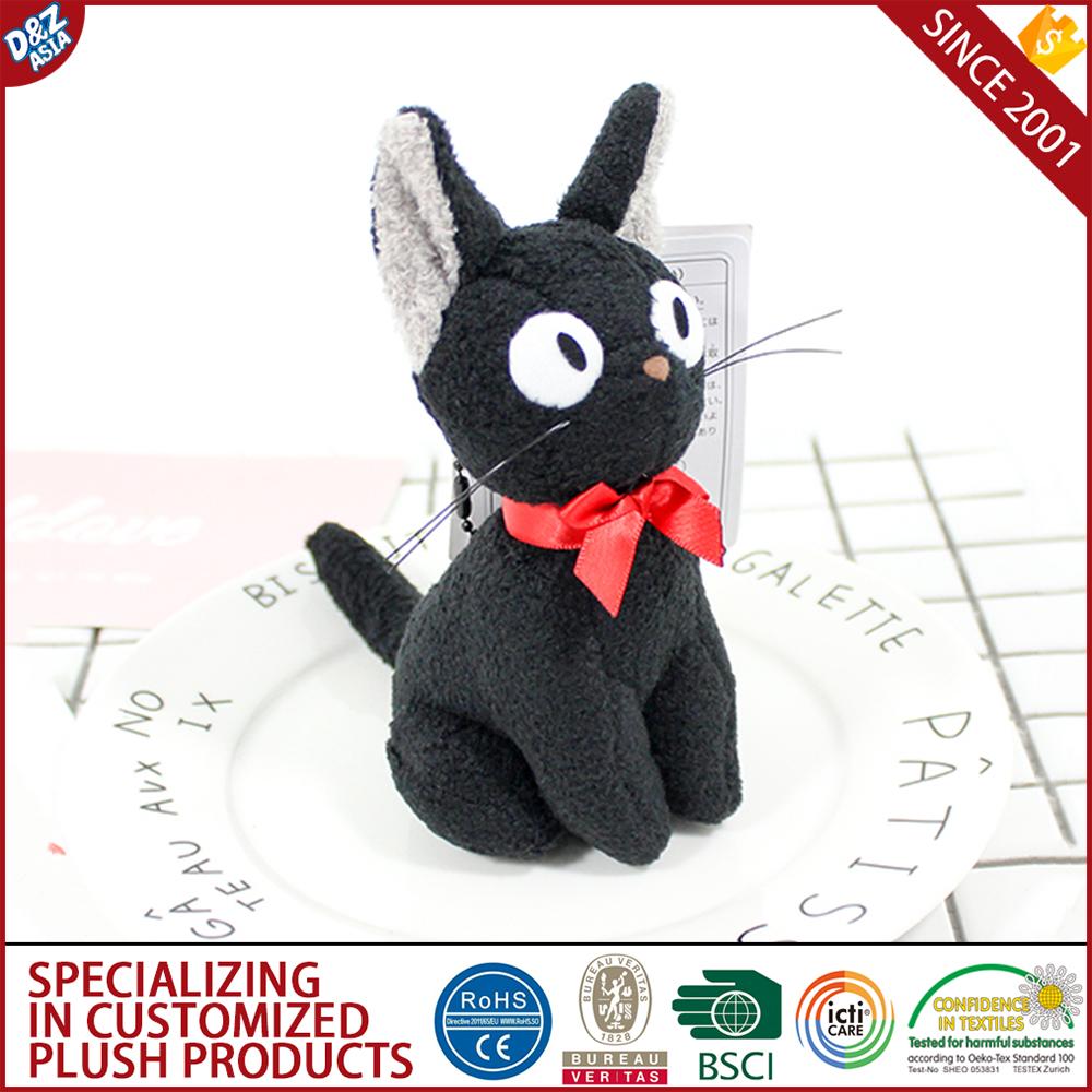 Japanese Plush Toys Black Cat Toy Kiki Tiimo Playmates Buy Catblack Catplaymates Product On