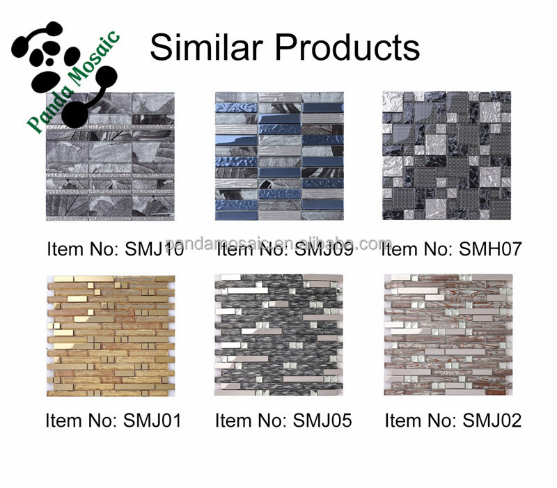 2015 new trend liguid luster glass mosaic tiles for bathromm wall tiles smj04 - Glass Tile Living Room 2015