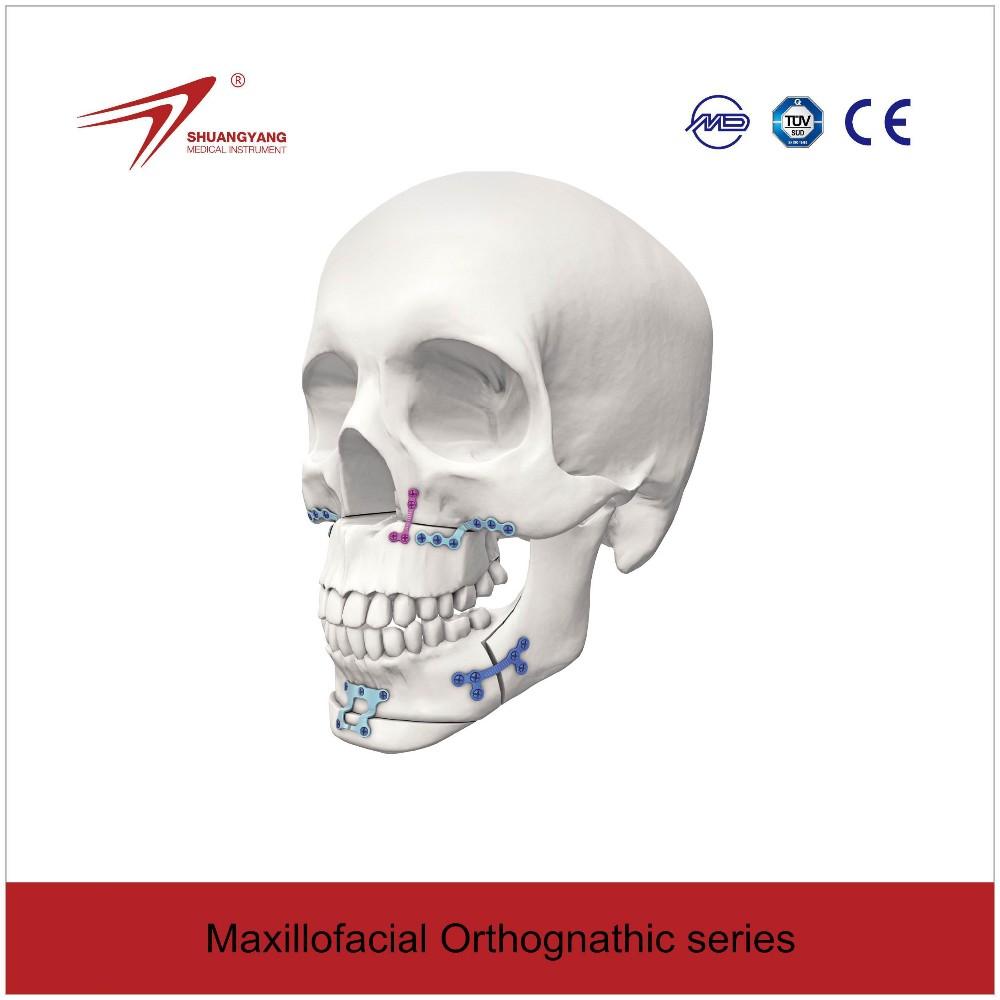 maxillofacial titanium micro  mini plates titanium