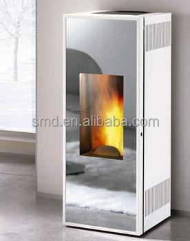 2015 nova biomassa pellet caldeira com espelho porta de for Porta pellet da interno